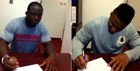 Jawan Jamison et Chris Thompson signent leur contrat