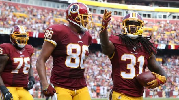 Jordan Reed et Matt Jones ont porté l'attaque de Washington face à Cleveland.